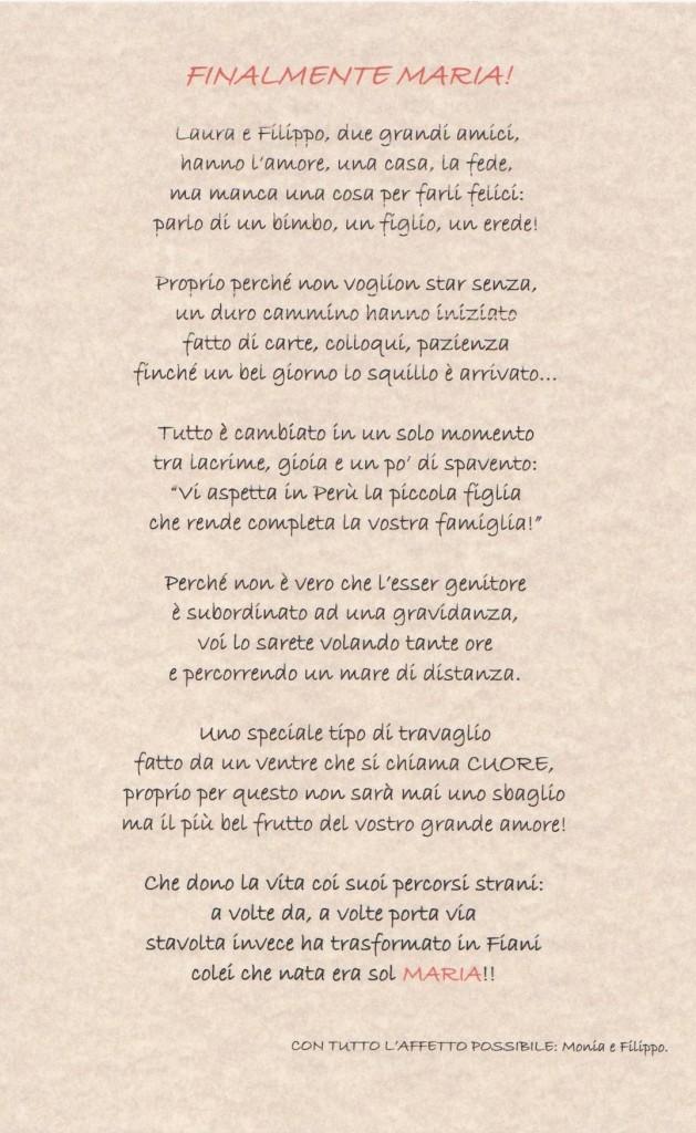 Poesia Esperando Maria Pilar